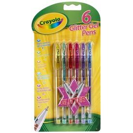 Crayola csillámos zselés toll 6db