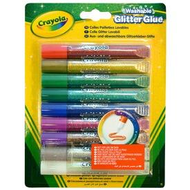 Crayola csillámragasztó 9db