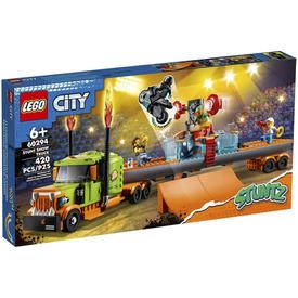 LEGO City Stuntz 60294 Kaszkadőr show teherautó