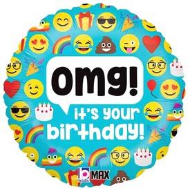 OMG! It s your birthday! Fólialufi - 46 cm