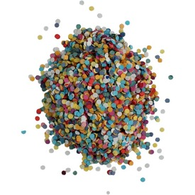 Színes konfetti 30g