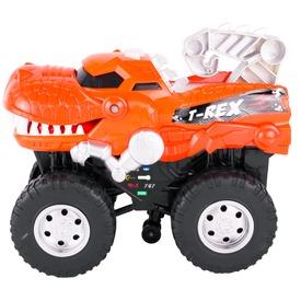 Dinoszaurusz elemes autó - 24 cm