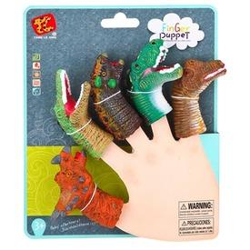 Dinoszaurusz ujjbáb 5 darabos készlet