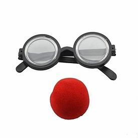 Bohóc szemüveg és orr Itt egy ajánlat található, a bővebben gombra kattintva, további információkat talál a termékről.