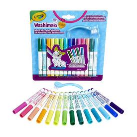 Crayola Washimals 14 db-os filctoll szett