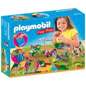 Playmobil Pónilovalgás térképpel 9331