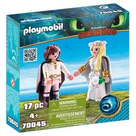 Playmobil esküvő Hibbant-szigeten 70045
