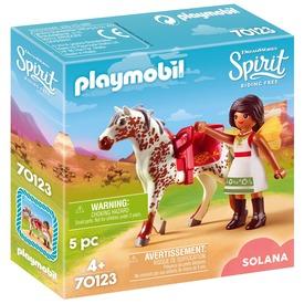 Playmobil Solana és Spirit díjugratás 70123