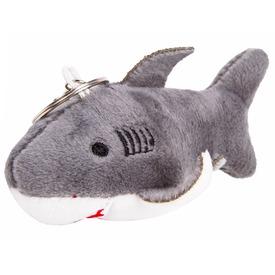 Cápa kulcstartó plüssfigura - 10 cm