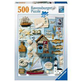 Puzzle 500 db - Tengerparti emlékek