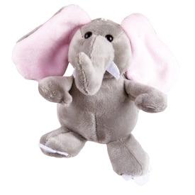 Elefánt kulcstartó plüssfigura - 13 cm