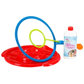 Mega Bubi dupla buborékfújó készlet