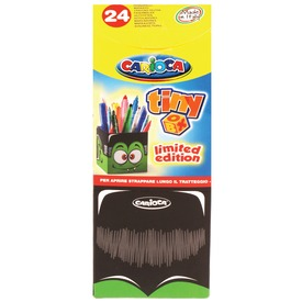 Szörny tolltartó 24 darabos filctoll készlettel