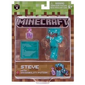 Minecraft Alex figura bájitallal - 8 cm
