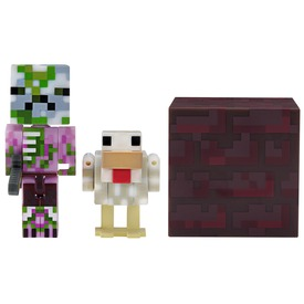 Minecraft Pigman Jockey figura - 8 cm