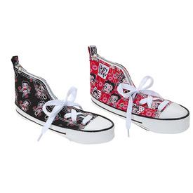 Betty Boop tornacipő alakú tolltartó