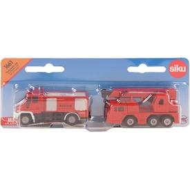 SIKU Mercedes-Benz és MAN tűzoltó 1:87 - 1661