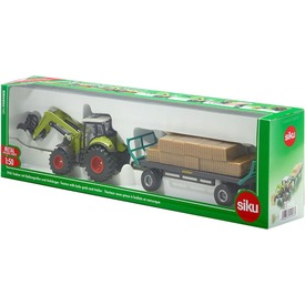 Siku: Claas traktor utánfutóval 1:50 - 1946