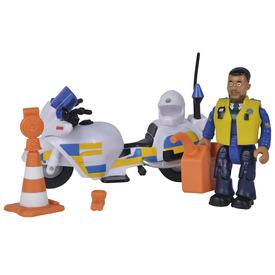 Sam rendőrségi motor figurával