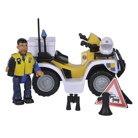 Sam rendőrségi quad figurával
