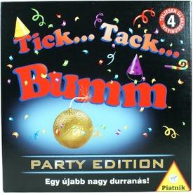 Tick Tack Bumm party társasjáték Itt egy ajánlat található, a bővebben gombra kattintva, további információkat talál a termékről.