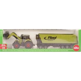 Siku: Claas traktor markolóval 1:50 - 1949