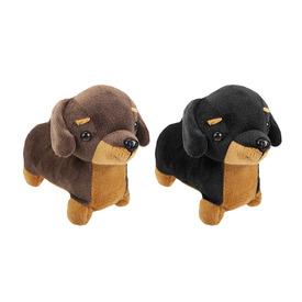 Tacskó kutya plüssfigura - 19 cm, többféle