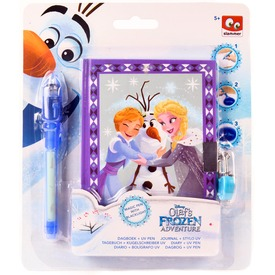 Jégvarázs Olaf titkos napló UV tollal