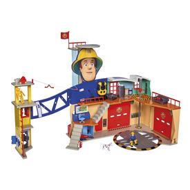 Sam a tűzoltó Mega XXL tűzoltóállomás