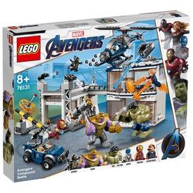 LEGO® Super Heroes Bosszúállók csatája 76131