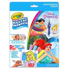 Disney hercegnők maszatmentes kifestő