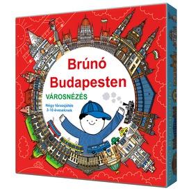 Brúnó Budapesten 4 az 1-ben társasjáték