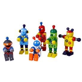 Flexi robot ügyességi játék - 11 cm, többféle