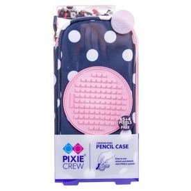 Pixie toltartó kék-rózsaszín pöttyös