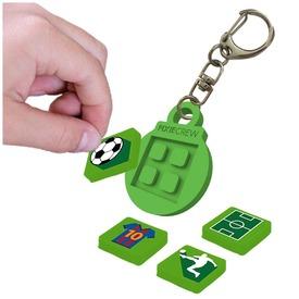 Pixie kulcstartó - zöld