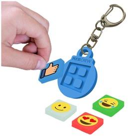 Pixie kulcstartó - kék