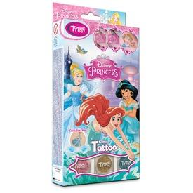 Disney hercegnők csillámtetoválás készlet