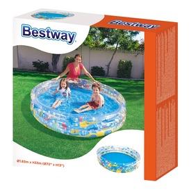 Bestway 51005 Átlátszó gyűrűs medence 183 x 33 cm