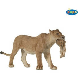 Papo nőstény oroszlán kölyökkel figura Itt egy ajánlat található, a bővebben gombra kattintva, további információkat talál a termékről.
