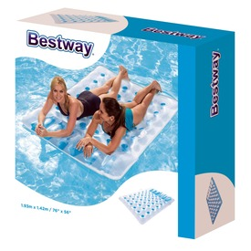 Bestway 43055 Dupla felfújható matrac 193 x 142 cm