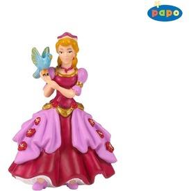Papo rózsaszín hercegnő madárral 39034