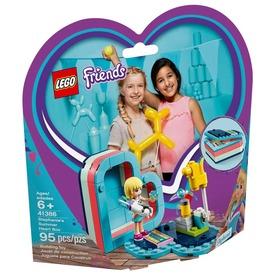 LEGO® Friends Stephanie nyári szív doboza 41386