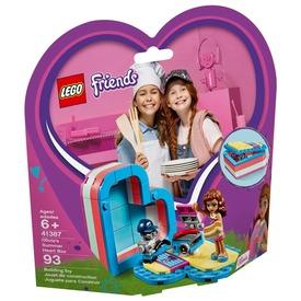 LEGO® Friends Olivia nyári szív doboza 41387
