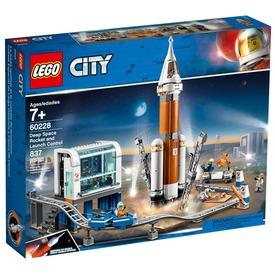 LEGO® City Űrrakéta és irányító központ 60228