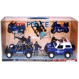 Rendőrségi autó játékkészlet Itt egy ajánlat található, a bővebben gombra kattintva, további információkat talál a termékről.