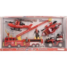 Tűzoltó készlet járművekkel Itt egy ajánlat található, a bővebben gombra kattintva, további információkat talál a termékről.