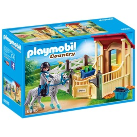 Playmobil Appaloosa ló istállóval 6935