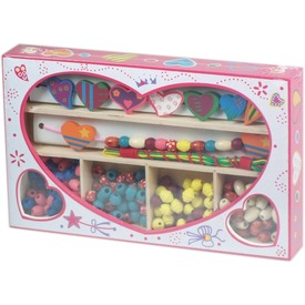 Fa gyöngyfűző készlet szívecskés dobozban Itt egy ajánlat található, a bővebben gombra kattintva, további információkat talál a termékről.