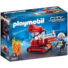 Playmobil lánctalpas vízágyú 9467