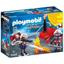 Playmobil tűzoltók vízpumpával 9468